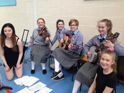 Click to view album: 1st year céilí